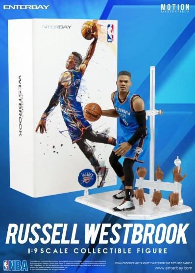 Figurine 1/9 Russel Westbrook