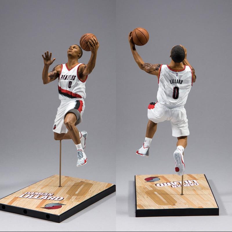 Blazers Basketball Reference: MCFarlane Portland Trail Blazers Damian LILLARD NBA Figure