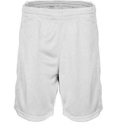 Short de Basket homme PROACT blanc