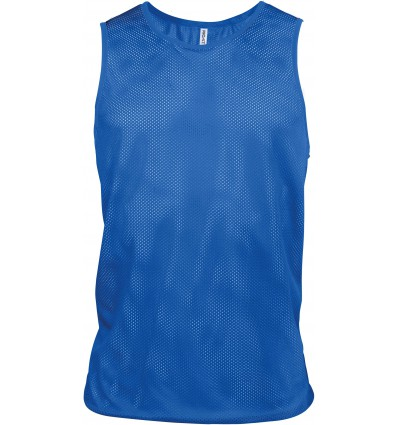 Chasuble simple d'entrainement PROACT bleu royal