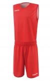 Ensemble réversible de basket X400 rouge