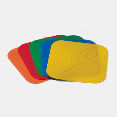 Basketball court markers from SKLZ