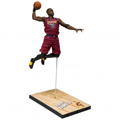 Mc Farlane NBA Cleveland Cavaliers Lebron JAMES packaging