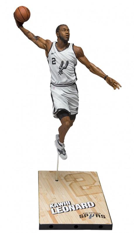 figure of Mc Farlane NBA San Antonio Spurs Kawhi LEONARD