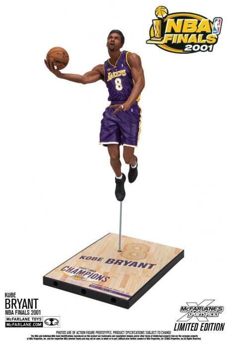 Mc Farlane NBA Final collector 2001 Kobe Bryant