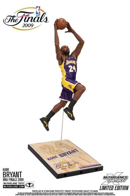 Figurine Mc Farlane NBA Legende Kobe Bryant finale 2009