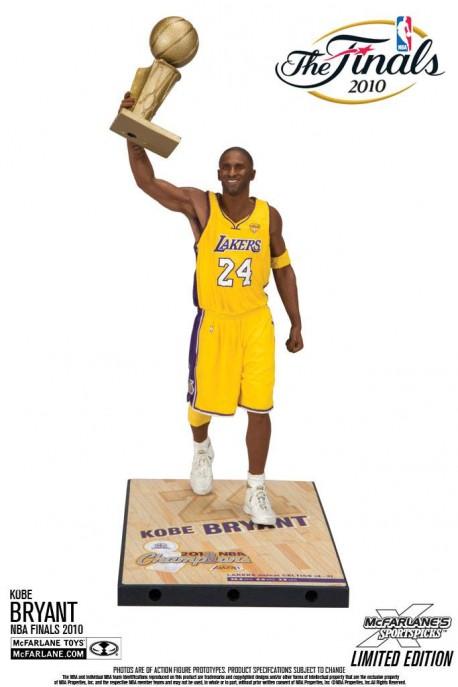 Figurine Mc Farlane NBA Legende Kobe Bryant finale 2010