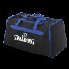 Sac d'équipe M Spalding Noir/Blanc Noir/Bleu Royal