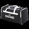 Sac d'équipe L Spalding Noir/Blanc