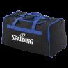 Sac d'équipe L Spalding Noir/Bleu Royal