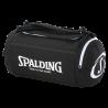 Sac de basketball fonction sac à dos Spalding noir/blanc