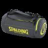 Sac de basketball fonction sac à dos Spalding gris anthracite/jaune