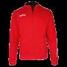 Sweat zippé Spalding TEAM II rouge