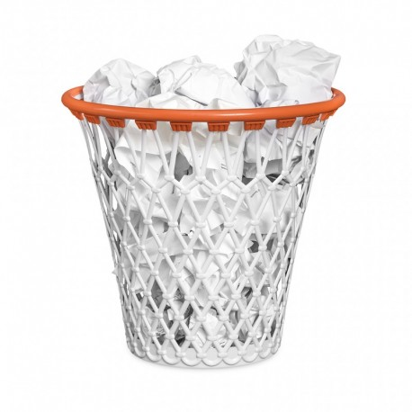 Basketball wastebasket
