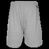 Short de Basket Team II SPALDING gris melange vue arrière