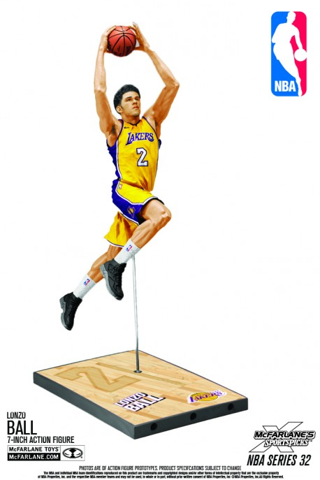 Mc Farlane NBA Los Angeles LAKERS Lonzo BALL figure