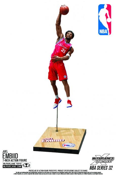 Mc Farlane NBA Philadelphie Sixers Joel EMBIID