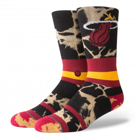 Chaussettes NBA Acid wash des Miami Heat