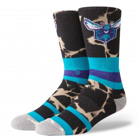 NBA Acid wash Charlotte Hornets socks