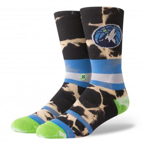 NBA Acid wash Minnesota Timberwolves socks