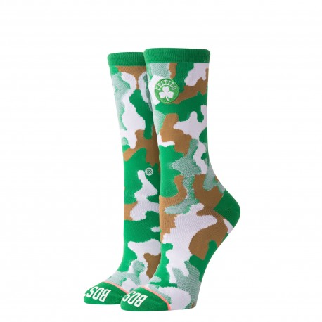 Women NBA Crew Boston Celtics socks