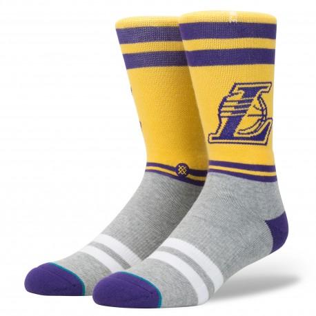 NBA City Gym Los Angeles Lakers socks