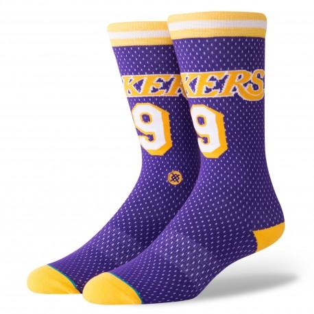 NBA 94 HWC Los Angeles Lakers socks