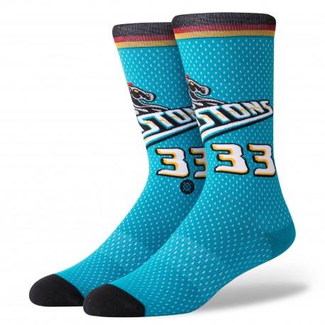 NBA 96 HWC Detroit Pistons socks