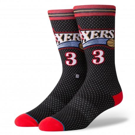 NBA sixers 01 HWC Philadelphia 76ers socks