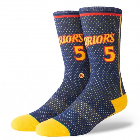 NBA warriors 04 HWC Golden State Warriors socks