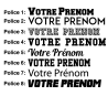 Gravure laser supplémentaire sur ballon