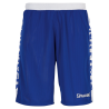 Short essential réversible Spalding blanc/bleu royal