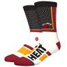 Chaussettes NBA Shortcut des Miami Heat