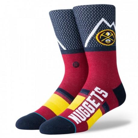 NBA Shortcut Denver Nuggets socks