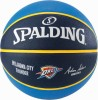 Thunder from Oklahoma City NBA Spalding Basketball