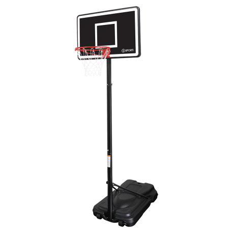 Mini basket with adjustable height