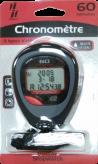Chronomètre précision 1/100 - 60 mémoires