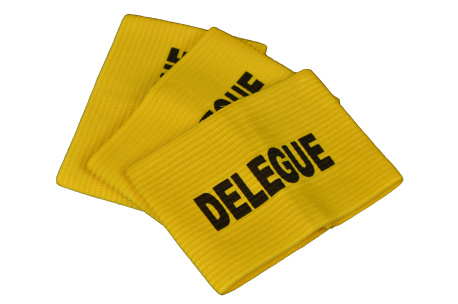 "Set of 3 ""délégués"" armband"