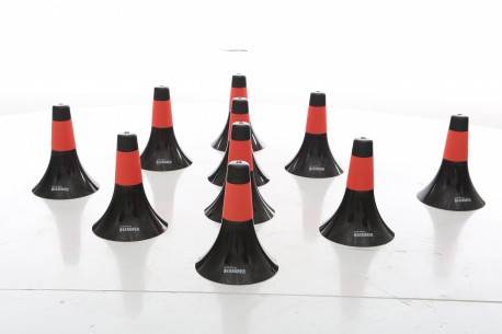 Set of 10 Basketball SPRM skillz cone