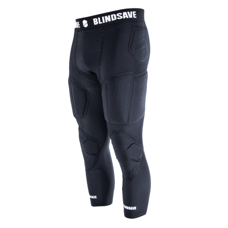 3/4 Tights with full protection padding BLINDSAVE