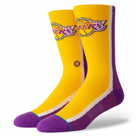 HWC Warmup Los Angeles Lakers socks