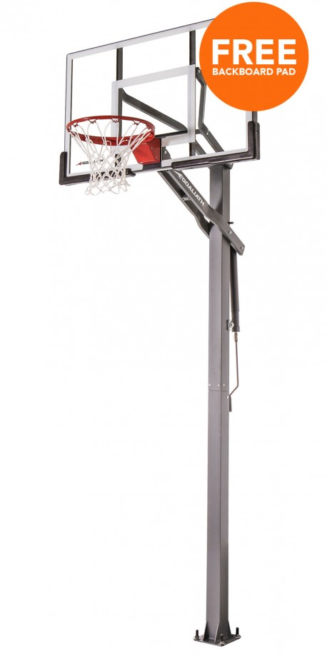 54' PRODIGY Goaliath inground basketball hoop