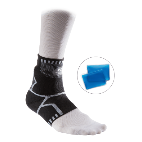 Ankle Recovery Sleeve Elastic with Cold Packs