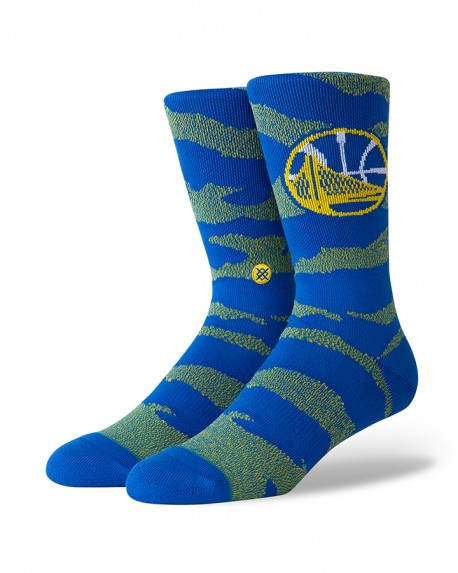 Chaussettes NBA CAMO Melange des Golden State Warriors