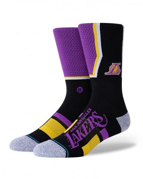 Chaussettes NBA shortcut 2 des Los Angeles Lakers