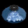 Coudière/poignet de compression avec sac de glace