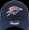 9Forty NewEra cap of the Oklahoma City Thunder