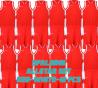 Set complet de jeux de maillot de match Allstar rouge/blanc