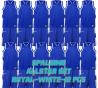 Set complet de jeux de maillot de match Allstar bleu royal/blanc
