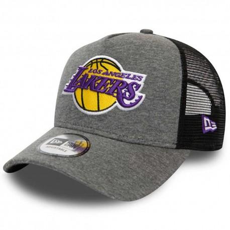 LA Lakers jersey essential grey A-Frame trucker cap